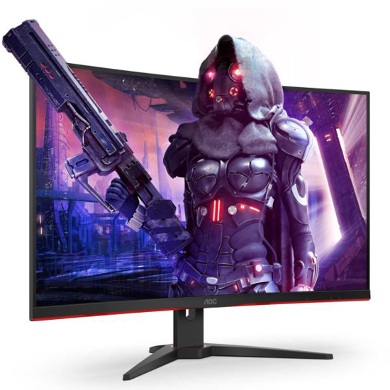 """Picture of AOC LCD 32"""" curved, 16:9, 1ms"""